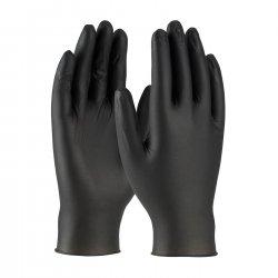 כפפות ניטריל חד פעמיות בצבע שחור